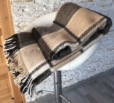 Blanket Throw Bed Sofa Fleece Cozy Plaid Soft Warm 100% Wool 140x200cm Lota