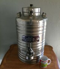 Vintage CECILWARE Commercial Insulated 5 Gal. HOT COFFEE Dispenser Urn Container