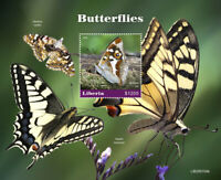 Liberia Butterflies Stamps 2020 MNH Swallowtail Butterfly Insects Fauna 1v S/S