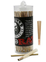RAW 50 Pack Classic 1 1/4 Size Pre-Rolled Cones Tips