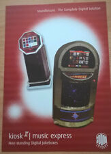 Sound Leisure Kiosk 2 / Music Express Digital Jukebox Sales Brochure / Flyer