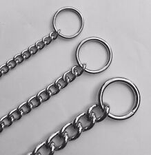 BEAU PETS DOG CHOKER / CHECK CHAIN HEAVY 65CM