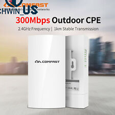 Comfast Cf-E130N WiFi Outdoor Cpe 300Mbps Wireless Bridge Router Repeater L3Us