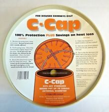 """C CAP Buff Chimney Capping Cowl fits disused Chimney Pots Up To 13"""" 330mm C-Cap"""