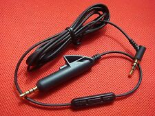 New iPod iPhone Control Cable Cord BOS QuietComfort 15 QC15 Quiet Comfort remote