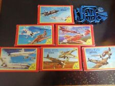 Vintage 1983 Breakfast Cereal Model Plane Me 262 Kit Is 50mm Long in Total
