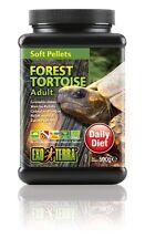 Exo Terra Soft Adult Forest Tortoise Soft Pellets Food 20.8-Ounce 1LB. 4.8oz.