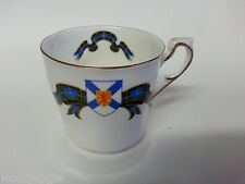Vintage NOVA SCOTIA TARTAN COFFEE CUP TEA CANADA PARAGON ENGLAND STOCK ON TRENT