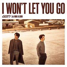 GOT7 Japan 3rd Mini Album [I WON'T LET YOU GO] Type D (CD+DVD) Jinyoung&Yugyeom