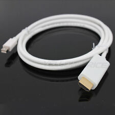 6FT Thunderbolt MDP to HDMI Male Cable for Macbook Pro to HDTV/Desktop Monitor