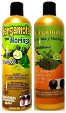Bergamot Shampoo & Conditioner Moringa Oil Shampoo Bergamota Aceite De Moringa