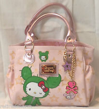 ❤️TOKIDOKI X HELLO KITTY BOSTON SANDY BAG PINK MINI LIMITED EDITION RARE FIND❤️