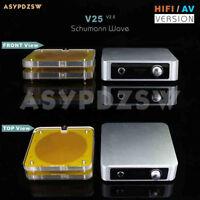 HIFI/AV Version schumann wave V25 Ultra-Low pulse generator+2 External antennas
