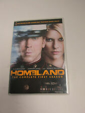 Homeland: The Complete First Season DVD Claire Danes Damian Lewis