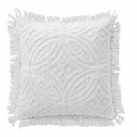 Bianca Savannah European Pillowcase White RRP $34.95