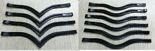 New High quality Leather Empty channel Bridle Browbands 6 Mm Free Shipping