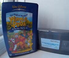 Magical World Of Winnie The Pooh - Vol. 1 - All For One And One For All (VHS, 2003)