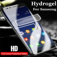 Soft HD Hydrogel Film Full Cover Screen Protectors For Samsung Galaxy 9 S8 S9