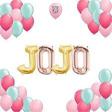 JoJo Siwa Party Supplies Letter Balloon Birthday Party Room Decoration Kit