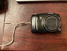 Canon PowerShot SX100 IS 10.0MP Digital Camera - Black