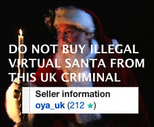 VIRTUAL SANTA NOT STOLEN BY UK THIEF plus Free Personalized Demo