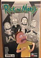 RICK AND & MORTY #48 ELLERBY COVER ONI PRESS COMICS ADULT SWIM NM