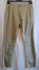 Womens Regatta Trousers Beige Lightweight Soft Shell Cotton UK 10 Hiking Walking