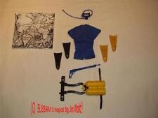 BIG JIM Sport Outfit : TAUCHER  /  SKIN DIVING  ! Mattel Action Set Sport