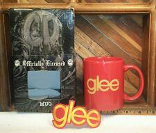 GLEE - Fox TV Show - Coffee Mug Cup & Iron on Patch - NIB