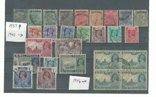 Burma 1937/1946 KGVI, used