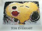 """Tom Everhart """"Dog Lips"""" Collectible Fine Art Poster Snoopy Schultz"""