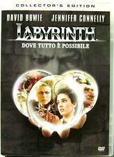 Dvd Labyrinth - Dove tutto è possibile - Collector's Edition 1986 Usato