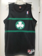 PAUL PIERCE 1925 BOSTON CELTICS NBA NIKE REWIND RETRO BLACK SEWN JERSEY SIZE M
