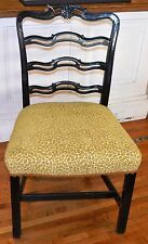 Vintage Painted Traditional Chippendale Side Chair