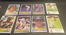 1982-84 COLUMBUS CLIPPERS & DONRUSS YANKEES SETS W/'82 MATTINGLY & '84 ROOKIE