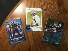 Earl Thomas 3 card RC Rookie Refractor lot Topps Chrome Valor /299 HOF shoe-in!!