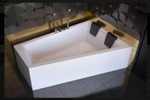 Offset Corner Bath *INTIMA DUO* SPACE SAVER 1700 x 1250 mm 170 x 125cm Bathtub