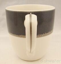 "Noritake  AMBIENCE CHARCOAL 7971 Mug  3 3/4"" x 4"""