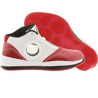 Air Jordan Big Kids 2010 (white / black / varsity red) 392369-101