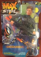 Rare Max Steel N- Tek Force Super Action Figure New In Box 24916