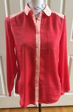 American Eagle Outfitters Two Tone Pink  Button Down Shirt Women's Size S