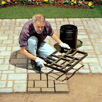 Pathmate Driveway Pavement Mold Path Mould Maker Concrete Stepping Stone Garden