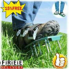 Lawn Aerator Shoes Sandals Plastic Grass Aerating Spikes Sod Yard Tool