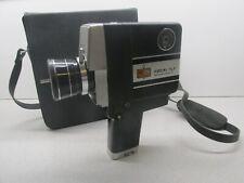 Old Kmart FOCAL TLZ SUPER 8 Movie Camera w Case - See my Vintage Kodak , Film ++