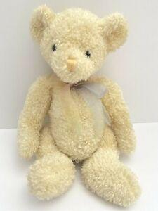 Vintage Commonwealth Yellow Teddy Bear Plush Stuffed Animal 1999