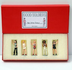 SPICE GIRLS Hand Painted Lead Soldiers England UK SUPER RARE New Heavy Metal