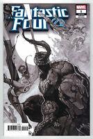 Fantastic Four #1 Party Sketch Venomized Variant 1 Per Store Marvel 2018