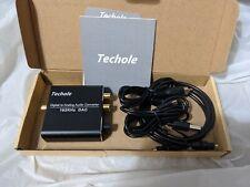 Digital to Analog Audio Converter-192kHz Techole Aluminum Optical to RCA HS203