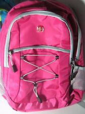 Swiss Gear Backpack School Gym Hiking Bag New Pink