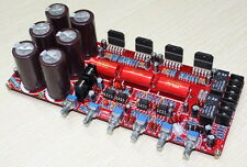 LM3886+NE5532  2.1 Amplifier Board 10000UF/50V*6 68wx2+120w 8ohm